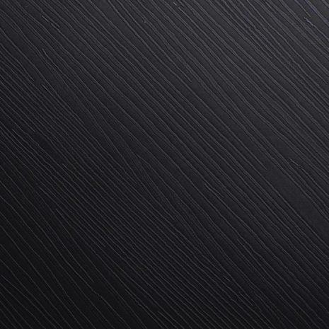 Plakfolie hout zwart