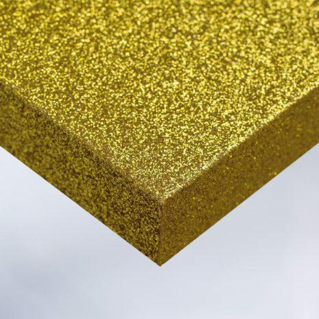glitter plakfolie interieur geel