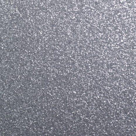 glitter plakfolie interieur zilver
