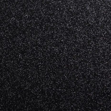 glitter plakfolie interieur zwart 1